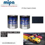 Авто боя готова база 1К Mipa - BMW 475
