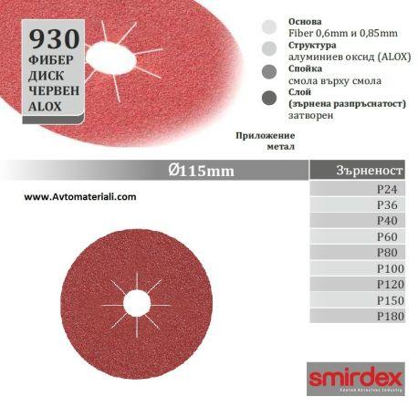 Фибер диск - Ф 115 мм
