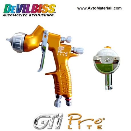 Пистолет за боядисване Devilbiss GTI PRO LITE