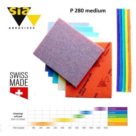 Абразивни гъби Sia sponge soft P 280