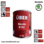 Uber 1К Авто боя база - Skoda 9102
