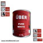 Uber 1К Авто боя база - Pure White