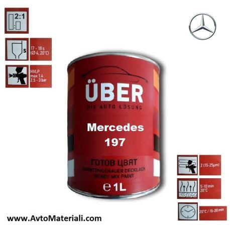 Uber 1К Авто боя база - Mercedes 197