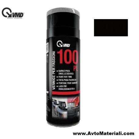 Спрей боя за пластмаса VMD - Черен