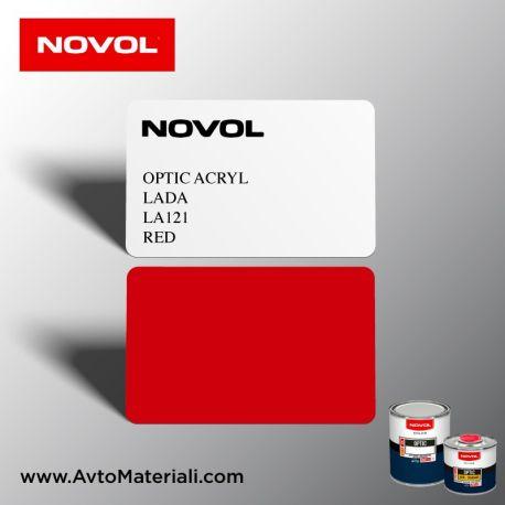 Акрилна боя Novol 121 Red (червен)