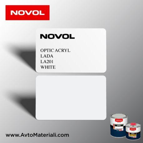 Акрилна боя Novol 201 White (бял)