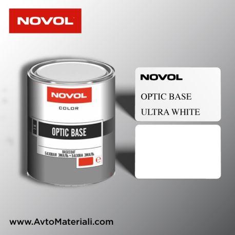 Авто боя готова база 1К Novol - Ultra White