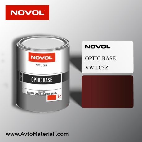 Авто боя готова база 1К Novol - VW LC3Z