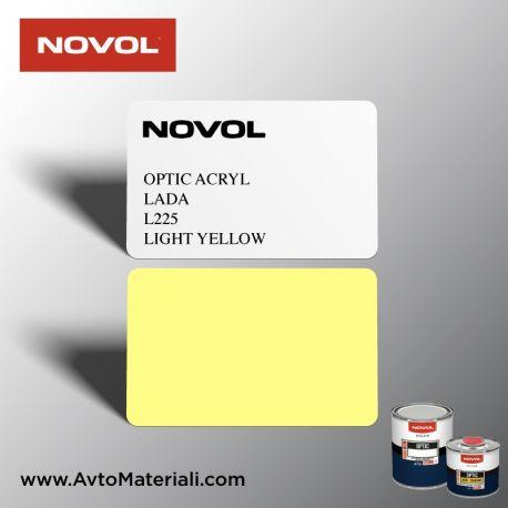 Акрилна боя Novol 225 Light Yellow (жълто)