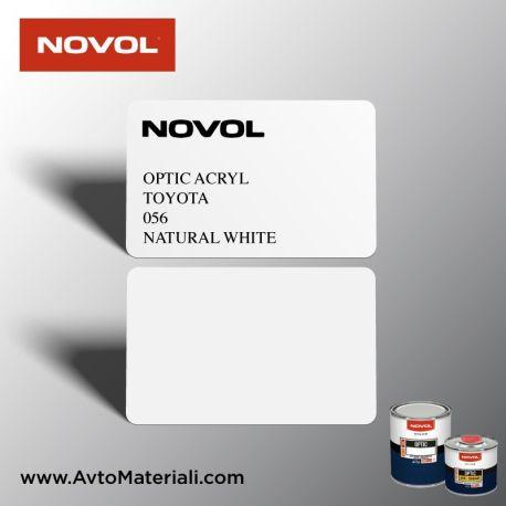 Акрилна боя Novol Toyota 056 Natural White (бял)