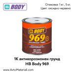 1К антикорозионен грунд HB Body 969