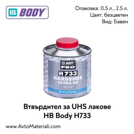 Втвърдител за UHS лак HB Body H733