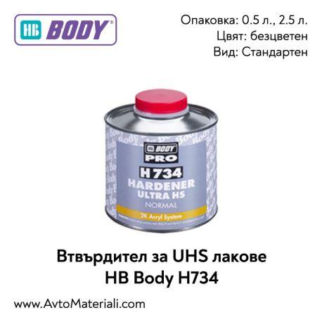Втвърдител за UHS лак HB Body H734