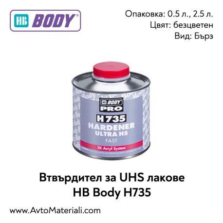 Втвърдител за UHS лак HB Body H735