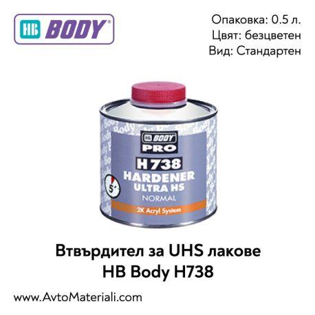 Втвърдител за UHS лак HB Body H738
