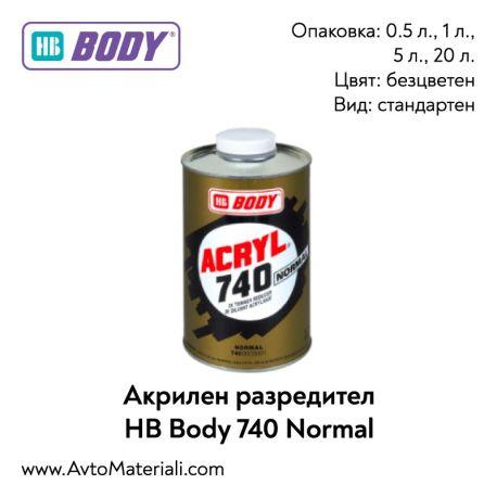 Акрилен разредител HB Body 740