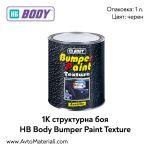 1К структурна боя HB Body Bumper paint texture