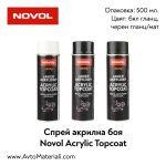 Спрей акрилна боя Novol Acrylic Topcoat