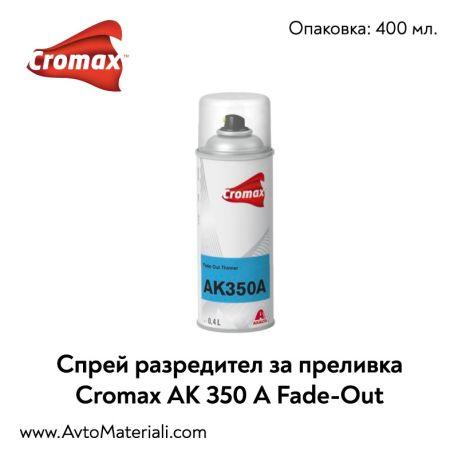 Спрей преливка Cromax DuPont AK 350 A