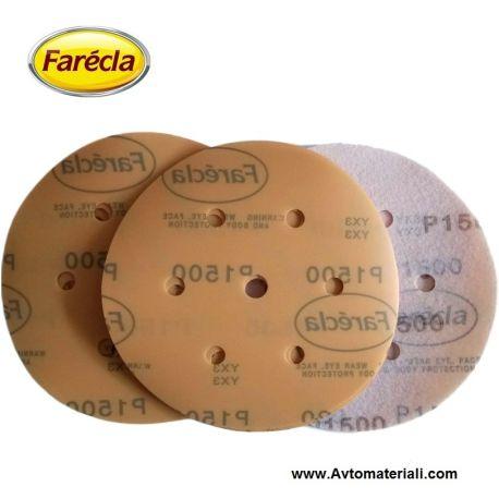 Шкурка велкро диск Farecla Ф150 - P1500